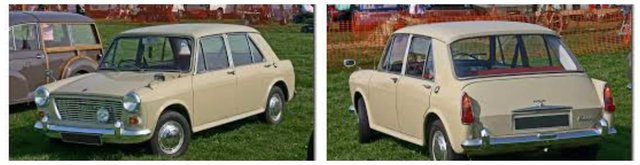 austin Morris 1100