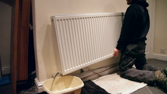 removing a radiator