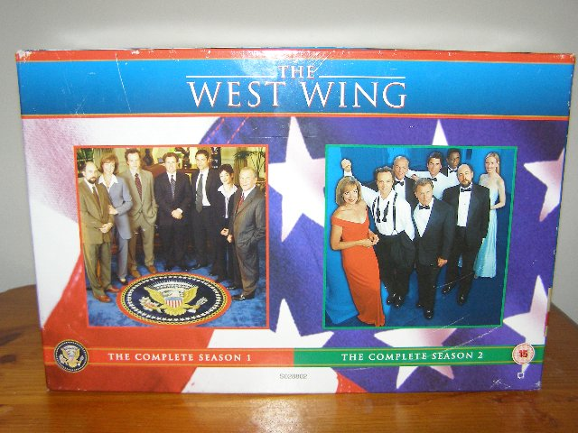 Preview of the first image of VHS set - The West Wing (Incl P&P).