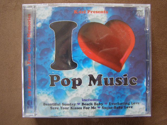 Preview of the first image of CD - I Love Pop Music (Incl P&P).
