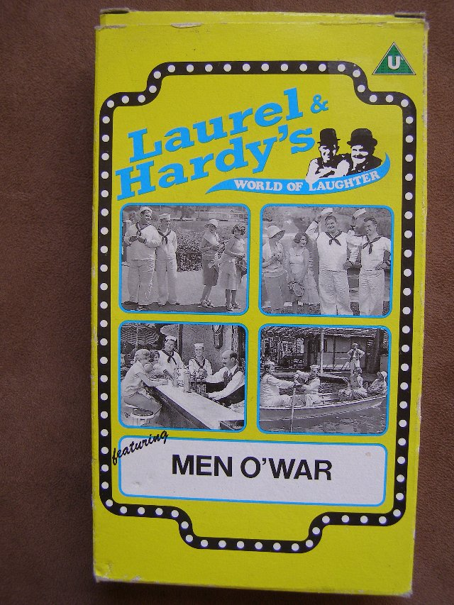 Preview of the first image of VHS - Laurel & Hardy's Men O'War (Incl P&P).