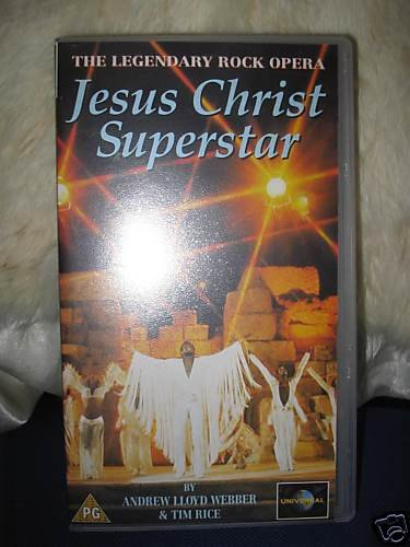 Preview of the first image of Jesus Christ Superstar- Boxed VHS Video.