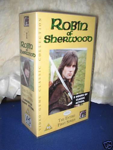 Preview of the first image of Robin of Sherwood - entire first series boxed set VIDEO.