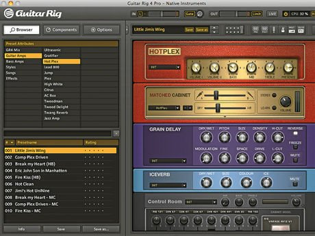 Preview of the first image of Guitar Rig 5 package £19.99.