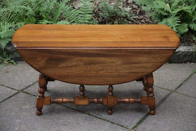 Preview of the first image of ERCOL GOLDEN DAWN SIDE END OCCASIONAL WINE SOFA COFFEE TABLE.