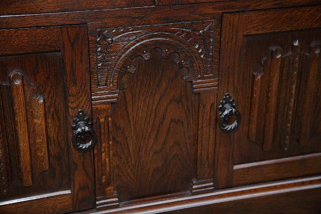 Image 5 of OLDE COURT CHARM BOOKCASE CUPBOARD DISPLAY CD DVD CABINET.