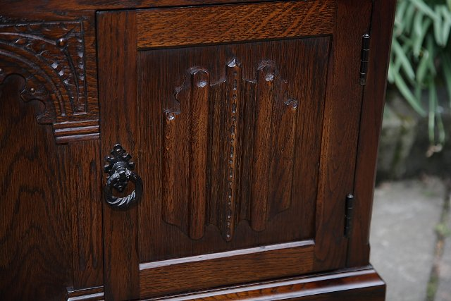 Image 13 of OLDE COURT CHARM BOOKCASE CUPBOARD DISPLAY CD DVD CABINET.