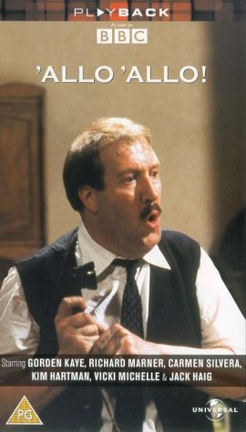 Preview of the first image of 'Allo 'Allo! VHS Triple Box set.