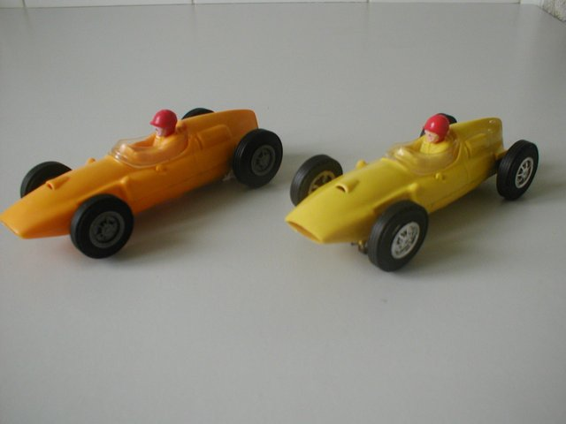 Image 2 of Lionel/Scalextric USA issue 1.32 Slot Cars from early 1960's
