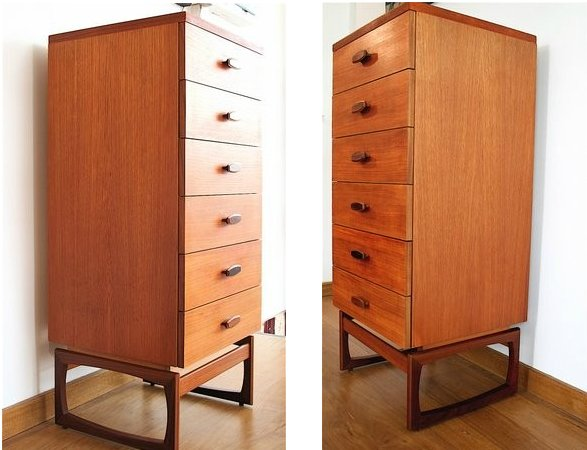 Image 2 of **WE BUY** RETRO TEAK CHESTS OF DRAWERS ***FOR CASH***