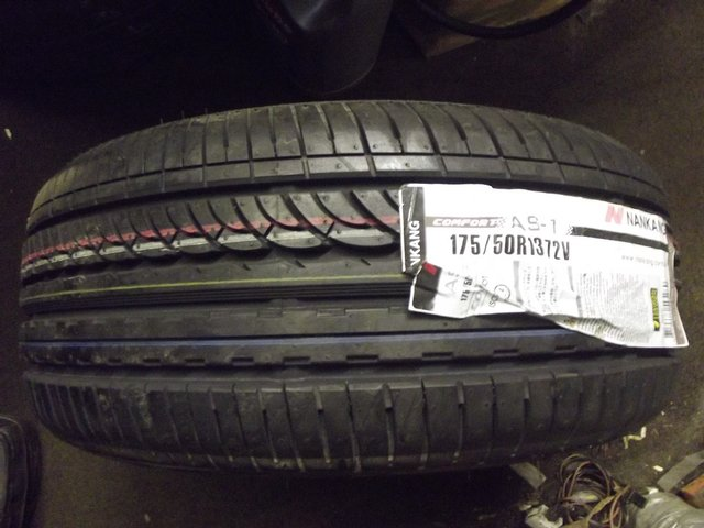 Preview of the first image of 175 50 x 13 TYRES MINI - SPORTSPACK METRO GTI TURBO.