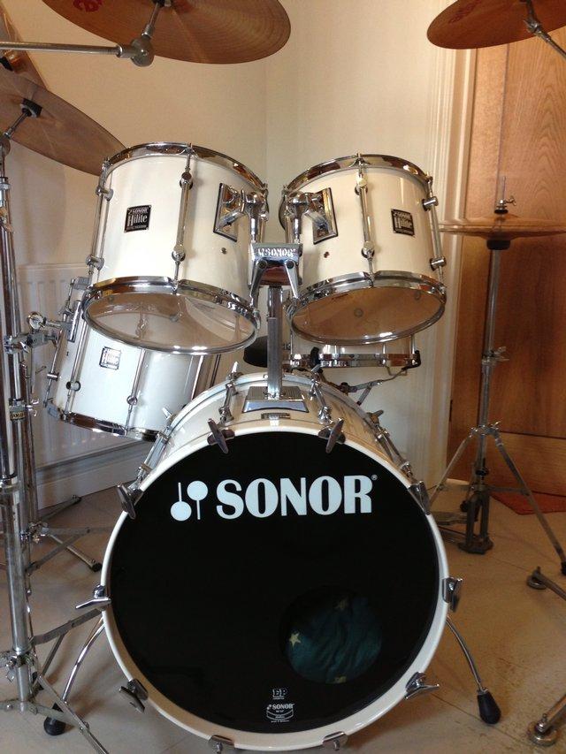 sonor hi lite drum kit for sale in shanklin isle of wight preloved. Black Bedroom Furniture Sets. Home Design Ideas
