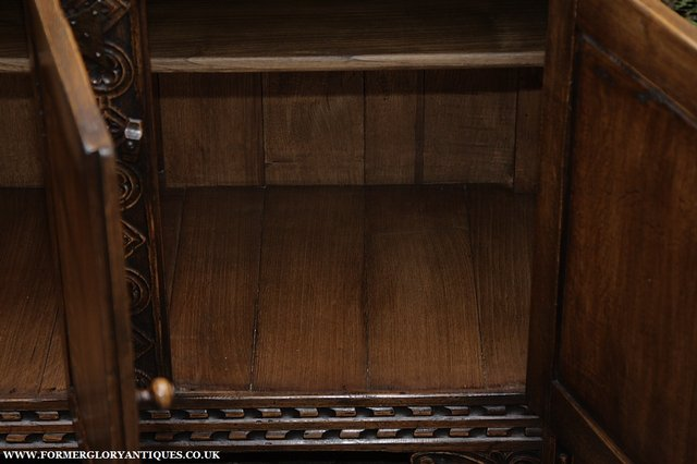 Image 35 of TITCHMARSH AND GOODWIN STYLE OAK SIDEBOARD DRESSER BASE