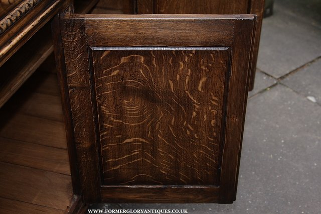 Image 47 of TITCHMARSH AND GOODWIN STYLE OAK SIDEBOARD DRESSER BASE