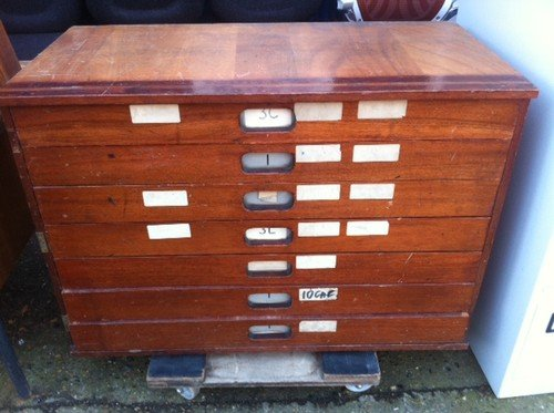 Preview of the first image of **WE BUY** VINTAGE SCHOOL DRAWERS **FOR CASH**.