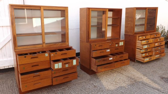 Image 2 of **WE BUY** VINTAGE SCHOOL DRAWERS **FOR CASH**