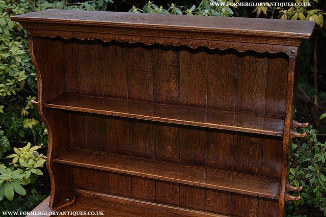 Image 5 of NIGEL GRIFFITHS SOLID OAK DRESSER BASE SIDEBOARD CABINET