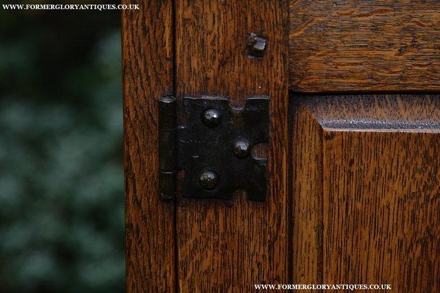 Image 32 of NIGEL GRIFFITHS SOLID OAK DRESSER BASE SIDEBOARD CABINET