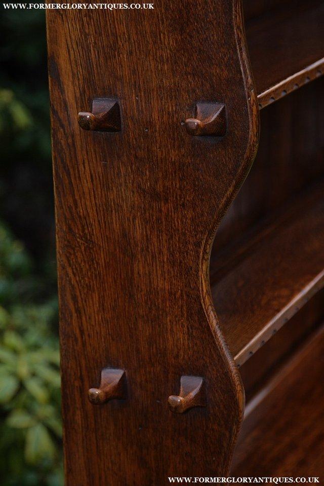 Image 38 of NIGEL GRIFFITHS SOLID OAK DRESSER BASE SIDEBOARD CABINET
