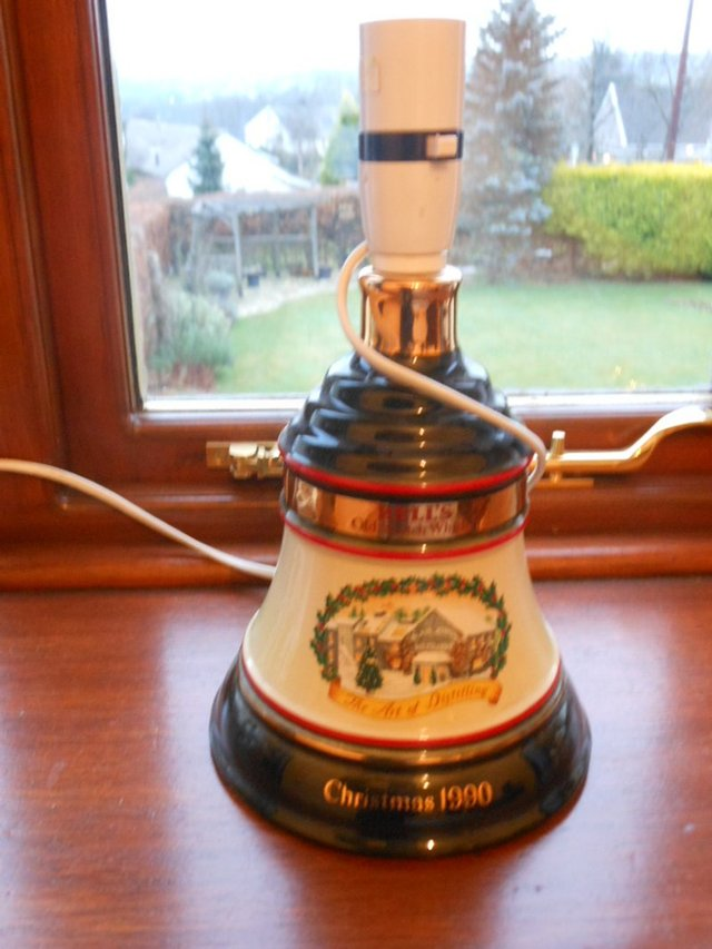 Image 2 of Rare Bells Whisky Decanter Lamp