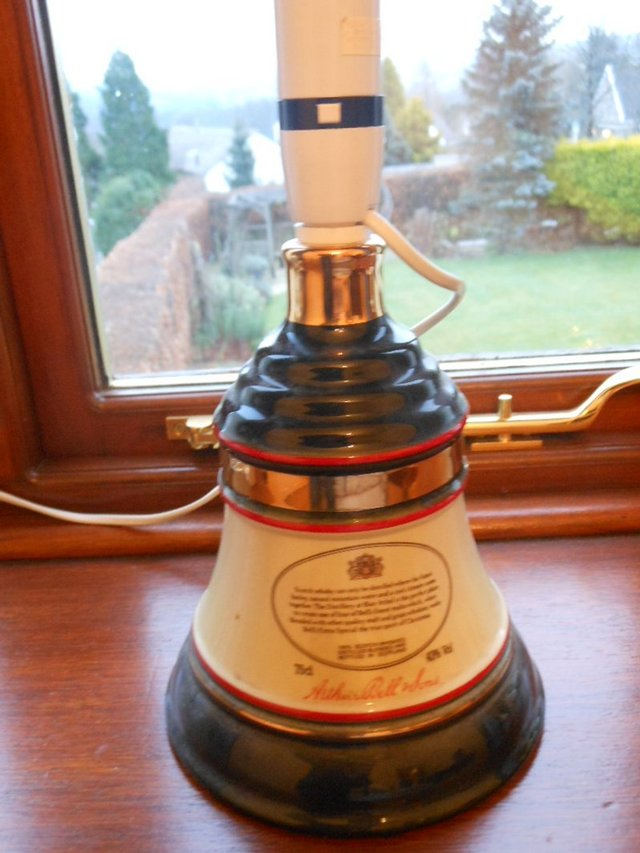 Preview of the first image of Rare Bells Whisky Decanter Lamp.