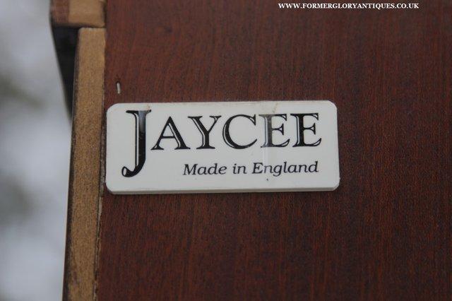 Image 5 of JAYCEE OLD CHARM OAK BOOKCASE WALL OFFICE OPEN BOOK SHELVES
