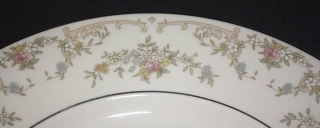 """Preview of the first image of ROYAL DOULTON """"DIANA"""" FINE BONE CHINA TEA CUPS & SAUCERS."""
