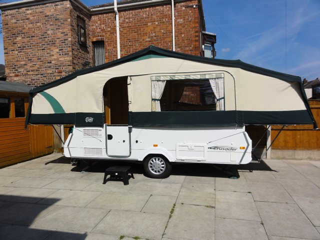 Preview of the first image of For Sale Conway/Pennine Folding Camper.