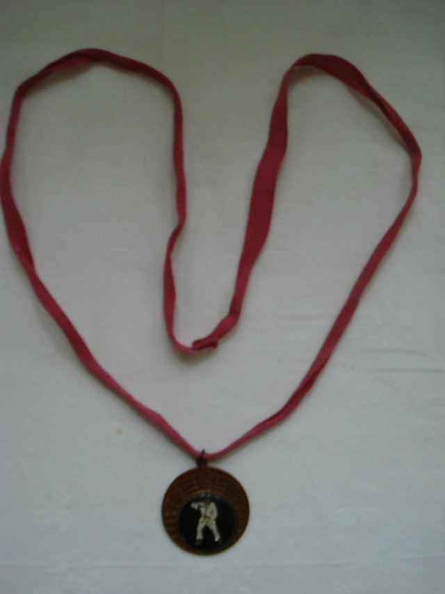 Image 2 of COLLECTORS ITEM - JUDO COIN MEDALLION / NECKLACE