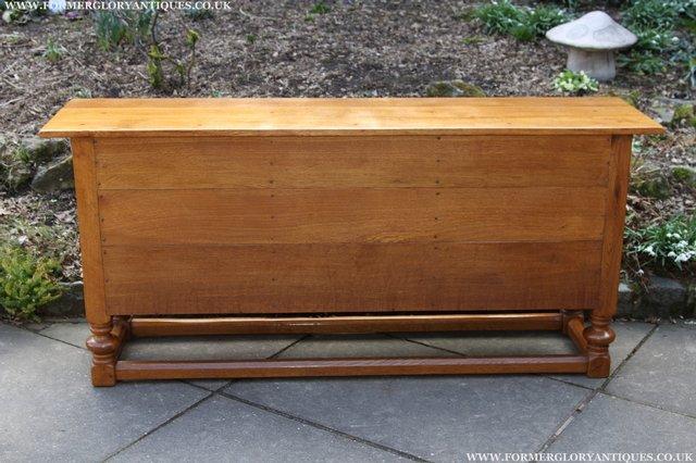 Image 5 of RUPERT NIGEL GRIFFITHS OAK DRESSER BASE SIDEBOARD TABLE