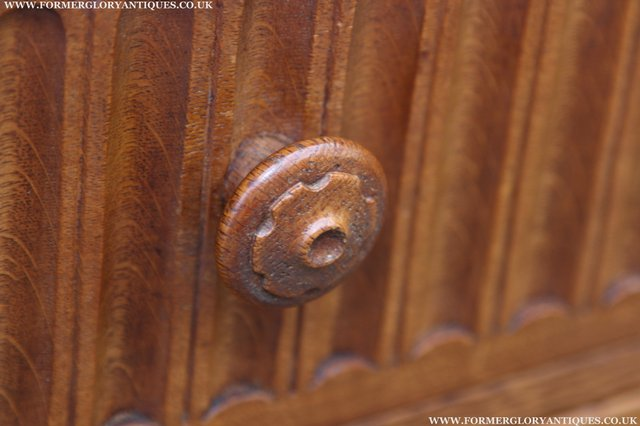 Image 13 of RUPERT NIGEL GRIFFITHS OAK DRESSER BASE SIDEBOARD TABLE
