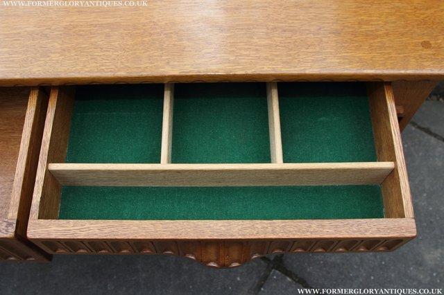 Image 22 of RUPERT NIGEL GRIFFITHS OAK DRESSER BASE SIDEBOARD TABLE