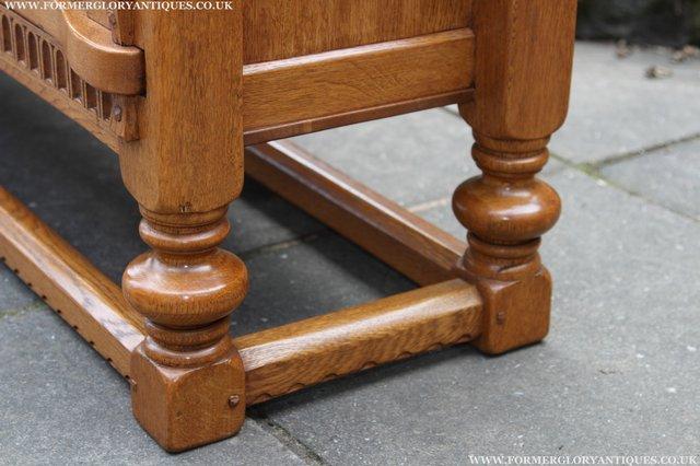 Image 23 of RUPERT NIGEL GRIFFITHS OAK DRESSER BASE SIDEBOARD TABLE