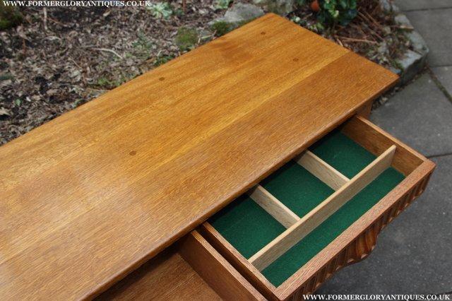 Image 37 of RUPERT NIGEL GRIFFITHS OAK DRESSER BASE SIDEBOARD TABLE