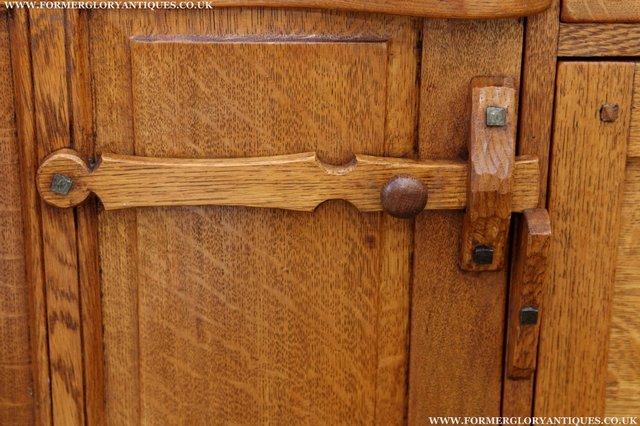 Image 44 of RUPERT NIGEL GRIFFITHS OAK DRESSER BASE SIDEBOARD TABLE