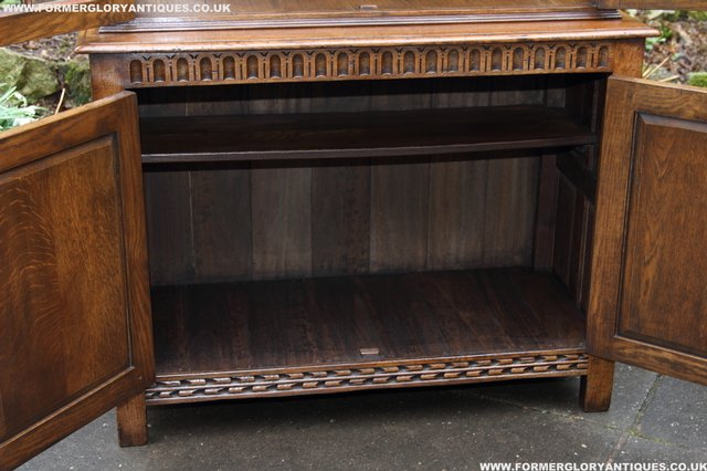 Image 4 of TITCHMARSH GOODWIN STYLE BOOKCASE DISPLAY CABINET CUPBOARD