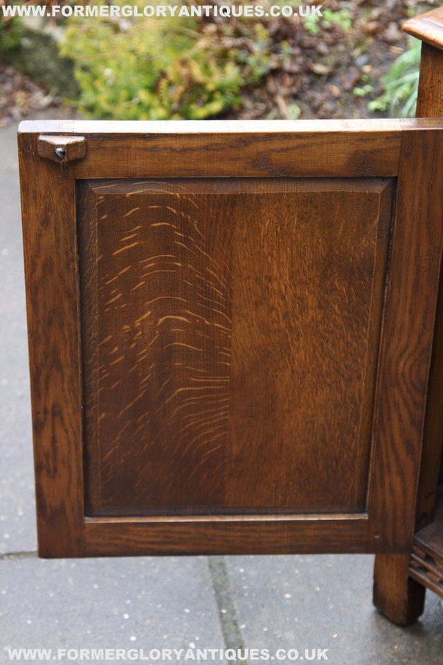 Image 27 of TITCHMARSH GOODWIN STYLE BOOKCASE DISPLAY CABINET CUPBOARD