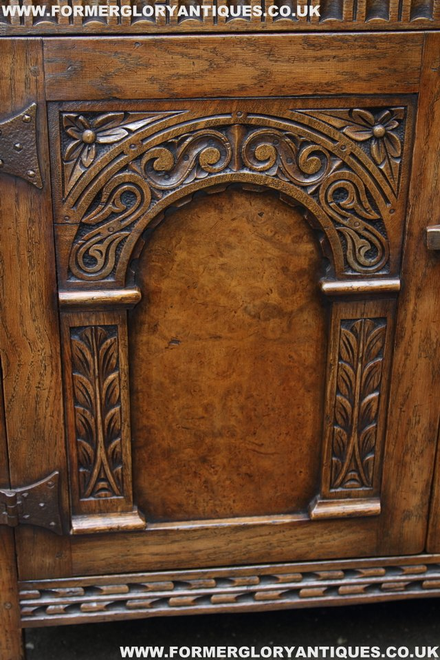 Image 32 of TITCHMARSH GOODWIN STYLE BOOKCASE DISPLAY CABINET CUPBOARD