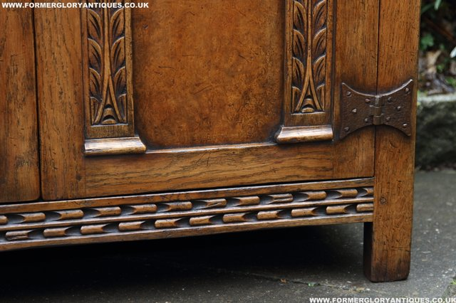 Image 41 of TITCHMARSH GOODWIN STYLE BOOKCASE DISPLAY CABINET CUPBOARD