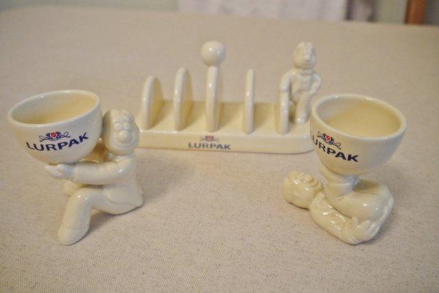 Lurpak Egg Cups For Sale In Uk 14 Used Lurpak Egg Cups