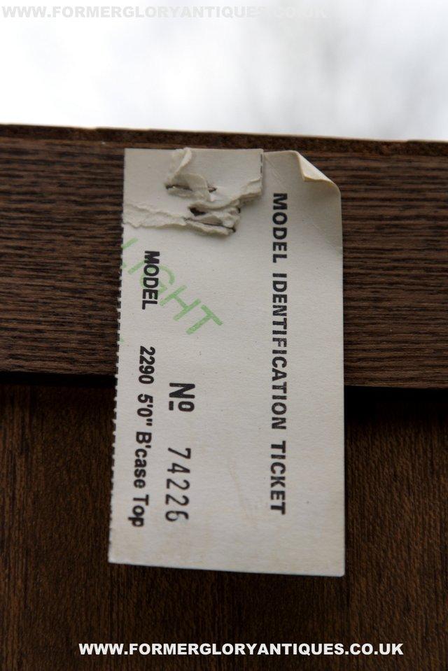 Image 11 of OLD CHARM LIGHT OAK DRESSER BASE SIDEBOARD BOOKCASE CABINET