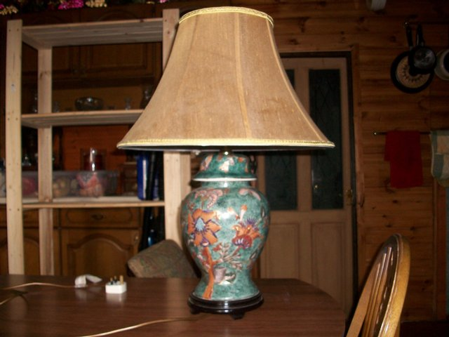 Chinese table lamp second hand lighting buy and sell in the uk chinese pattern table lamp aloadofball Choice Image