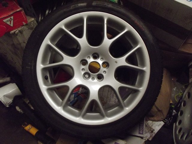 Preview of the first image of ROVER 75 / ZT HAIRPIN ALLOY WHEEL AND TYRE AS NEW.