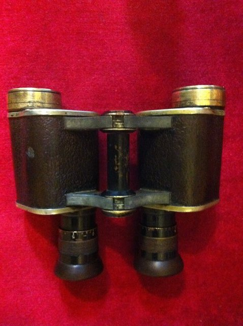 Preview of the first image of WW1 Officers Field Binoculars Dollond.