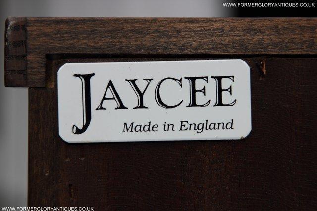 Image 3 of JAYCEE OLD CHARM OAK BOOKCASE WALL OFFICE CD DVD BOOKSHELVES