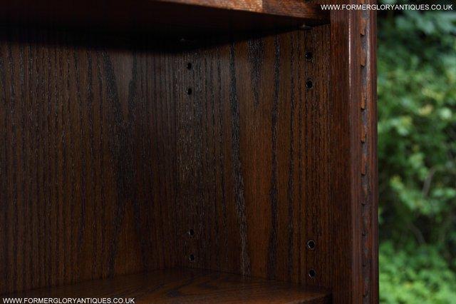 Image 32 of JAYCEE OLD CHARM OAK BOOKCASE WALL OFFICE CD DVD BOOKSHELVES