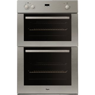 Preview of the first image of WHIRLPOOL STAINLESS STEEL BUILT IN DOUBLE OVEN!!NEW!!REDUCED.