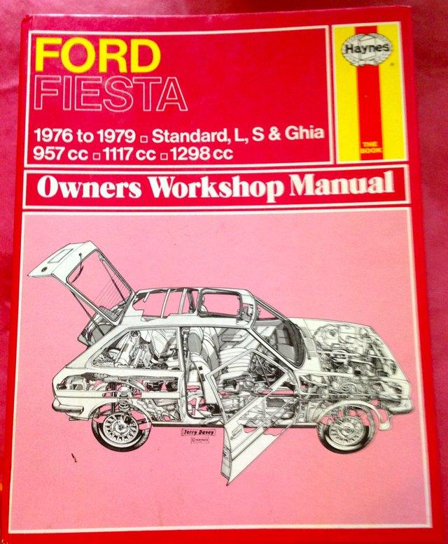 Mint Haynes Manual Ford Fiesta
