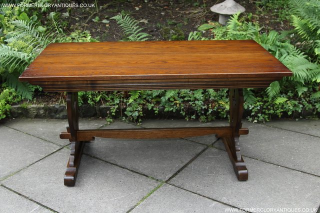 Image 3 of OLD CHARM LIGHT OAK KITCHEN DINING TABLE SIX DINING CHAIRS.