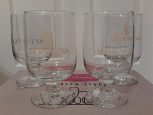 4 Guinness Glasses for sale  Oldham